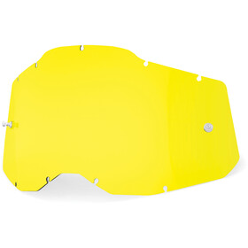 100% Anti-Fog Replacement Lenses Gen2, yellow/clear